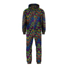Decorative Ornamental Abstract Hooded Jumpsuit (Kids) by Zeze