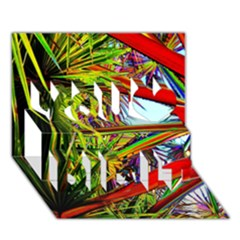 Kostenloses Leaves You Did It 3d Greeting Card (7x5) by AnjaniArt