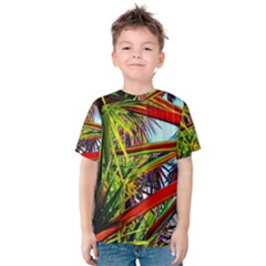Kostenloses Leaves Kids  Cotton Tee by AnjaniArt