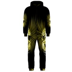 Horror Monster Undead Skull Hooded Jumpsuit (Men)  by Zeze