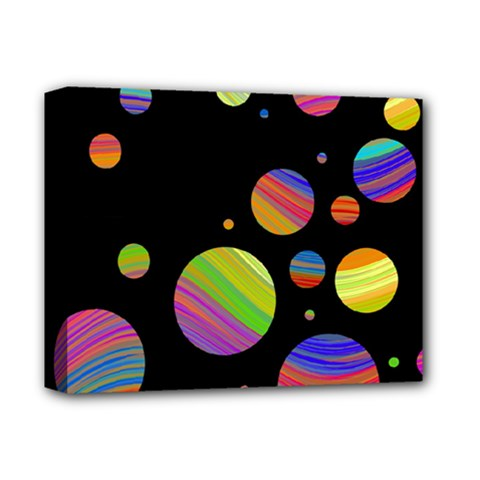 Colorful Galaxy Deluxe Canvas 14  X 11  by Valentinaart