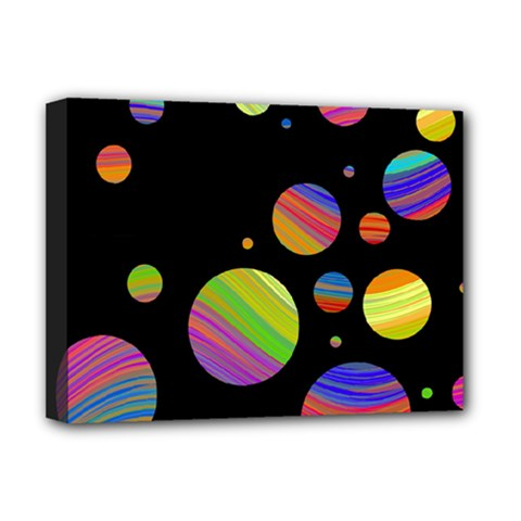 Colorful Galaxy Deluxe Canvas 16  X 12   by Valentinaart