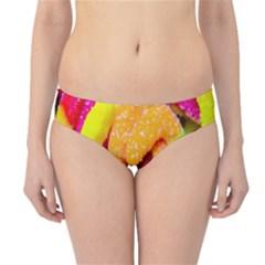 Neon Patterns Hipster Bikini Bottoms by AnjaniArt