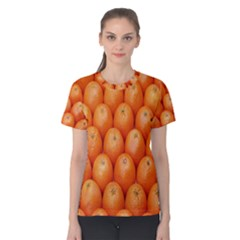 Orange Fruits Women s Cotton Tee by AnjaniArt