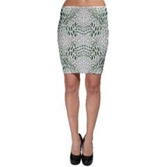 Green Snake Texture Bodycon Skirt by RespawnLARPer