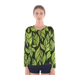 Palm Coconut Tree Women s Long Sleeve Tee by AnjaniArt