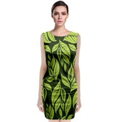 Palm Coconut Tree Classic Sleeveless Midi Dress by AnjaniArt