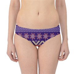 Colorful Tribal Pattern Hipster Bikini Bottoms