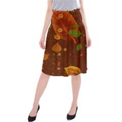 Autumn 01 Midi Beach Skirt by MoreColorsinLife