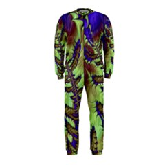 Freaky Friday, Blue Green OnePiece Jumpsuit (Kids) by Fractalworld