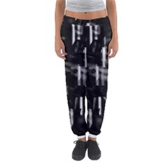 Black And White Neon City Women s Jogger Sweatpants by Valentinaart