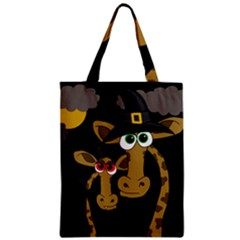 Giraffe Halloween Party Classic Tote Bag by Valentinaart