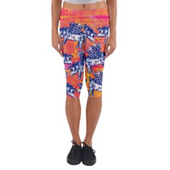 Little Flying Pigs Capri Yoga Leggings