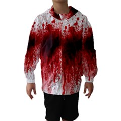 Gunshot Wound Hooded Wind Breaker (Kids) by TailWags
