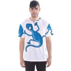 Blue Lizard Men s Sport Mesh Tee by Valentinaart
