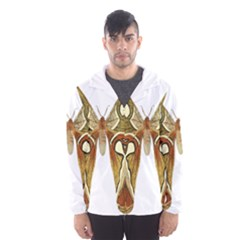 Butterfly Animal Insect  Hooded Wind Breaker (Men) by Zeze