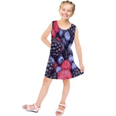 Forest Fruit Kids  Tunic Dress by Zeze