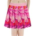 Geometric Magenta Garden Pleated Mini Skirt View1