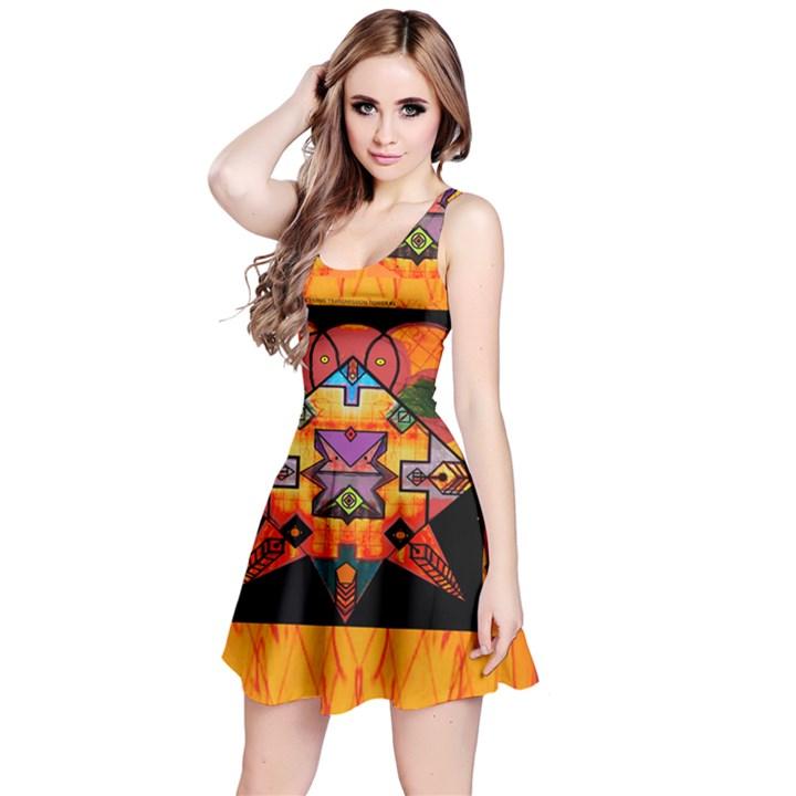 Clothing (20)6k,kk Reversible Sleeveless Dress