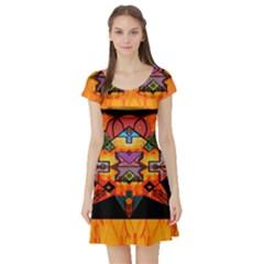 Clothing (20)6k,kk Short Sleeve Skater Dress