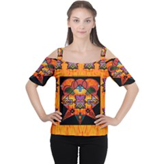 Clothing (20)6k,kk Women s Cutout Shoulder Tee