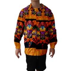 Clothing (20)6k,kk Hooded Wind Breaker (Kids)