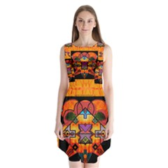 Clothing (20)6k,kk Sleeveless Chiffon Dress