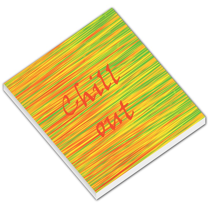Chill out Small Memo Pads