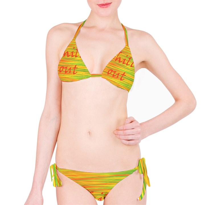 Chill out Bikini Set