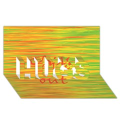 Chill Out Hugs 3d Greeting Card (8x4)