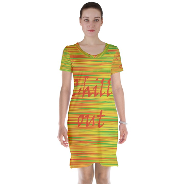 Chill out Short Sleeve Nightdress