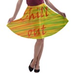 Chill out A-line Skater Skirt