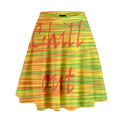 Chill Out High Waist Skirt