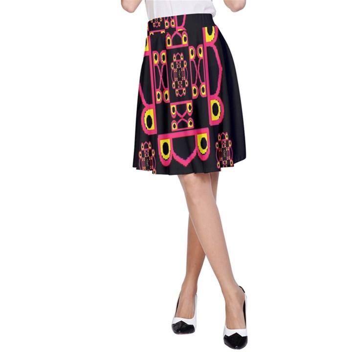 LETTER R A-Line Skirt