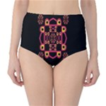 LETTER R High-Waist Bikini Bottoms
