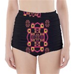 LETTER R High-Waisted Bikini Bottoms