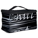 Black an white  Chill out  Cosmetic Storage Case View2