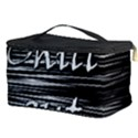 Black an white  Chill out  Cosmetic Storage Case View3