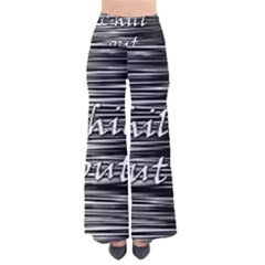 Black An White  chill Out  Pants