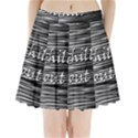 Black an white  Chill out  Pleated Mini Skirt View1