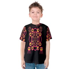 Alphabet Shirt Kids  Cotton Tee by MRTACPANS