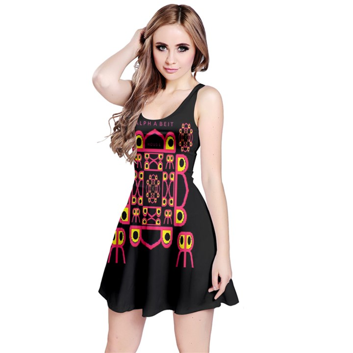 Alphabet Shirt Reversible Sleeveless Dress