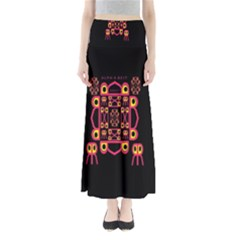 Alphabet Shirt Maxi Skirts