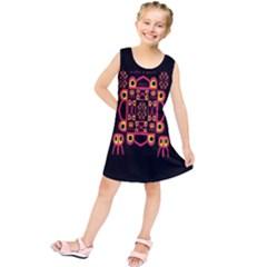 Alphabet Shirt Kids  Tunic Dress