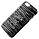 I love black and white Apple iPhone 5 Classic Hardshell Case View4