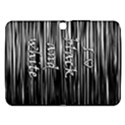 I love black and white Samsung Galaxy Tab 3 (10.1 ) P5200 Hardshell Case  View1