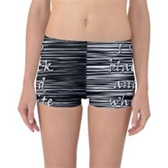 I love black and white Boyleg Bikini Bottoms