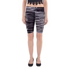 I love black and white Yoga Cropped Leggings