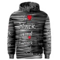 I love black and white 2 Men s Pullover Hoodie View1