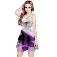 Purple Christmas Tree Reversible Sleeveless Dress